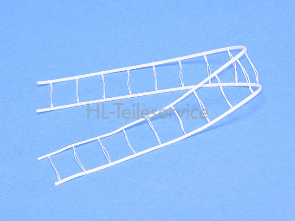 Leiterkordel 25 mm -weiß