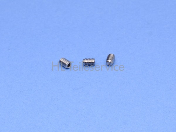 Gewindestift DIN 916 - M4 x 6 - A2