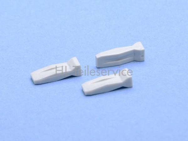 Ersatzkeil Kunststoff grau