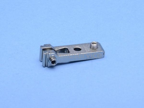 Haltelasche, kpl. (mittel) 48mm, Metall