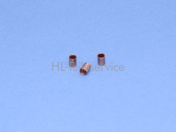 Hülse 6mm für 25mm Leiterkordel