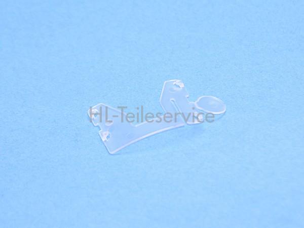 Lamellenklipp -glasklar für 16mm Lamelle