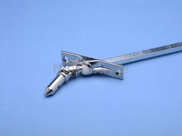 Gelenklager 45° für Metallfenster Abgang VK8 mm