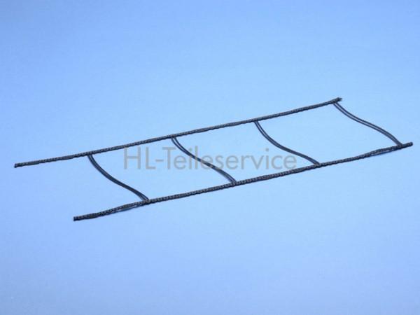 Leiterkordel 80 mm flach -schwarz