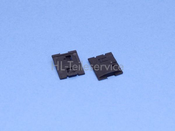 Klemmstück Hüppe - schwarz für Typ 268 TLT