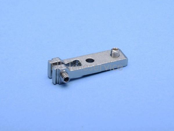 Haltelasche, kpl. (lang) 53mm, Metall