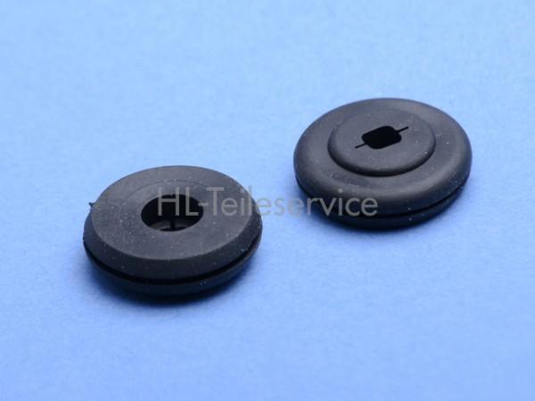 Gummipfropfen D:20 mm - schwarz