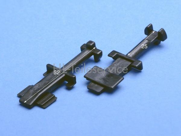 Nippel  lang -  52 mm - schwarz