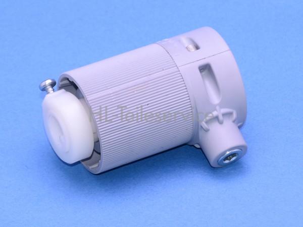 Getriebe Kunststoff 2:1 mit Ansatz, ohne Zapfen für 14mm Nutrohr