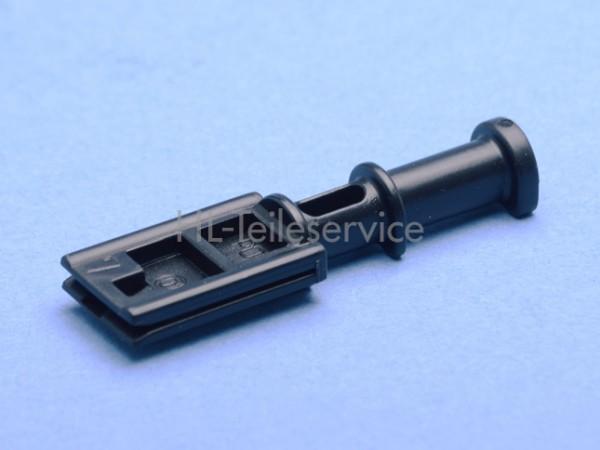 Führungsnippel 46mm -schwarz