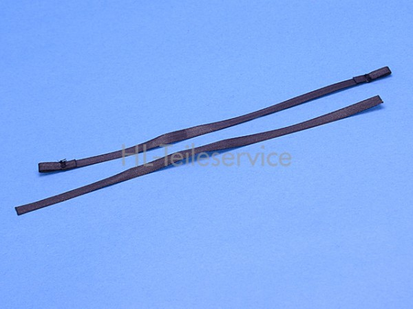 Texband Warema 6,0 x 0,33 - schwarz - steife Qualität