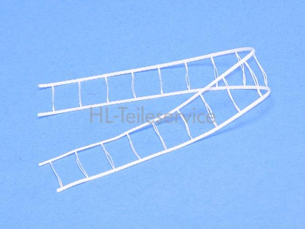 Leiterkordel 16 mm -weiß