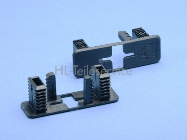 Endkappe 66mm -schwarz -offen