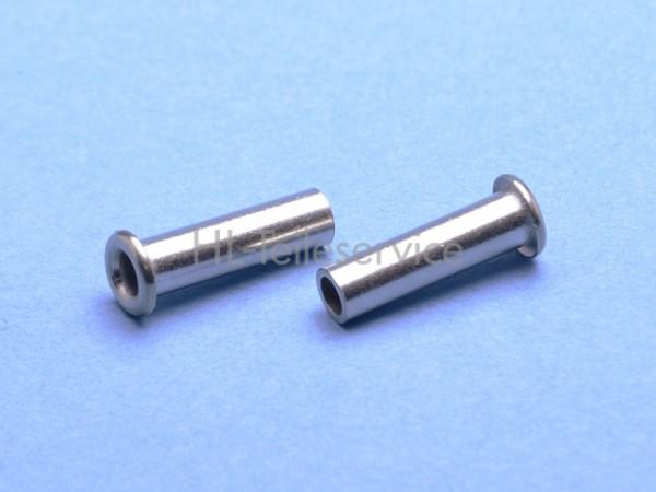 Rohrniet DIN 7340 - B5x0,75x18-1.4301