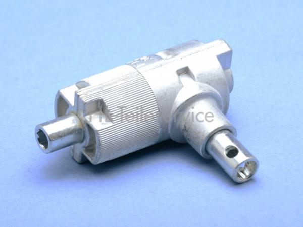Kegelradgetriebe Metall für 35mm Kopfprofil