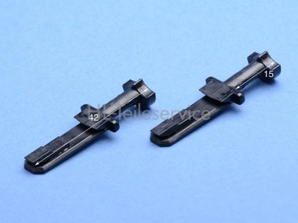 Nippel  42mm kurz - schwarz