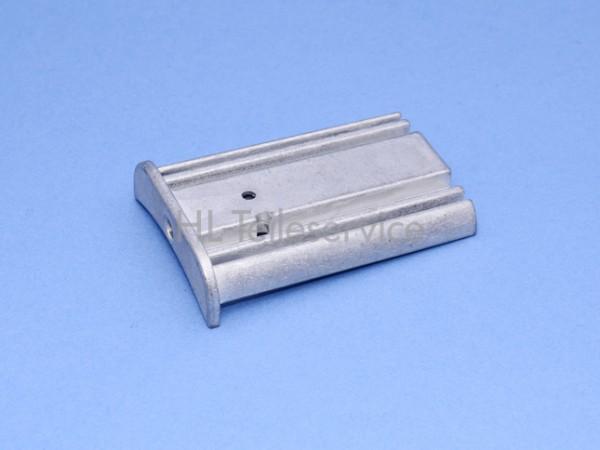 Spezial- Beschwerungsendkappe Hüppe für Unterleiste 53mm