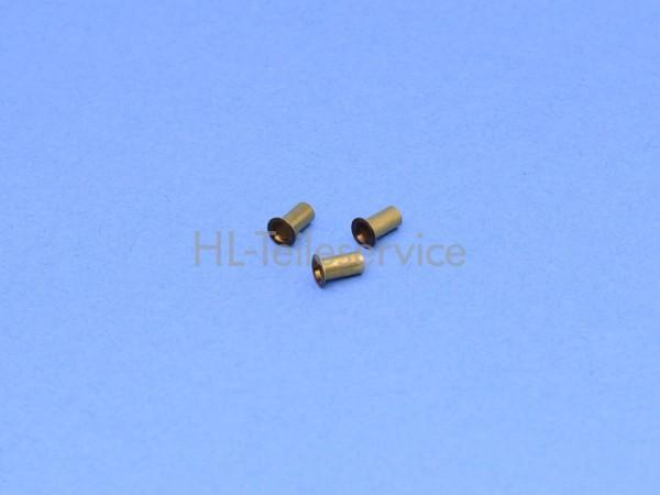 Rohrniet DIN 7340 - A3x0,2x6-MS f. Perlonstab 1,2 u. 1,6 mm