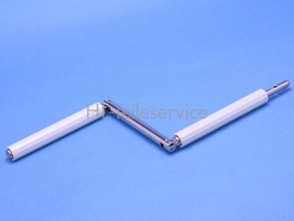 Knickgelenk Stahl 9mm - grau