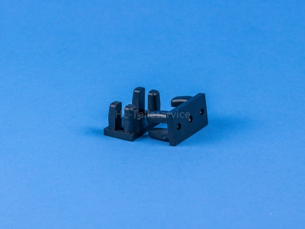 Befestigungsklotz Ehage - schwarz
