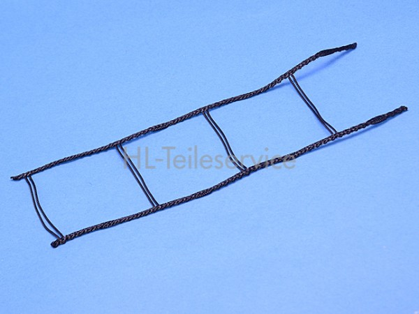 Leiterkordel 60 mm flach und gebördelt -schwarz