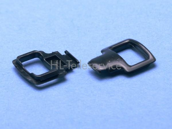 Leiterstegklemme -schwarz -alt