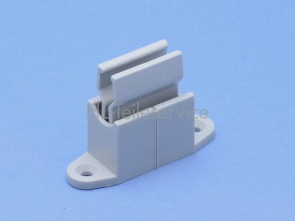 Kurbelstangenklemme 9-17mm -grau verstellbar, Lochabstand 48 mm
