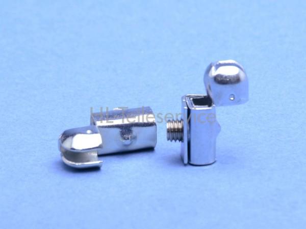 Kugelkupplung - Stahl - verzinkt